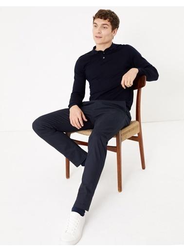 Marks & Spencer Slim Fit Chino Pantolon Lacivert